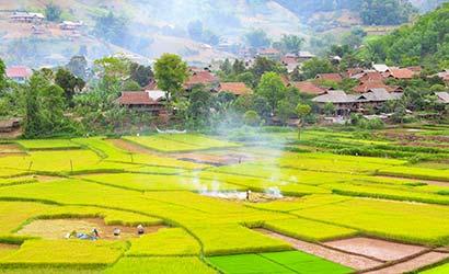 Paysages du Nord Ouest du Vietnam