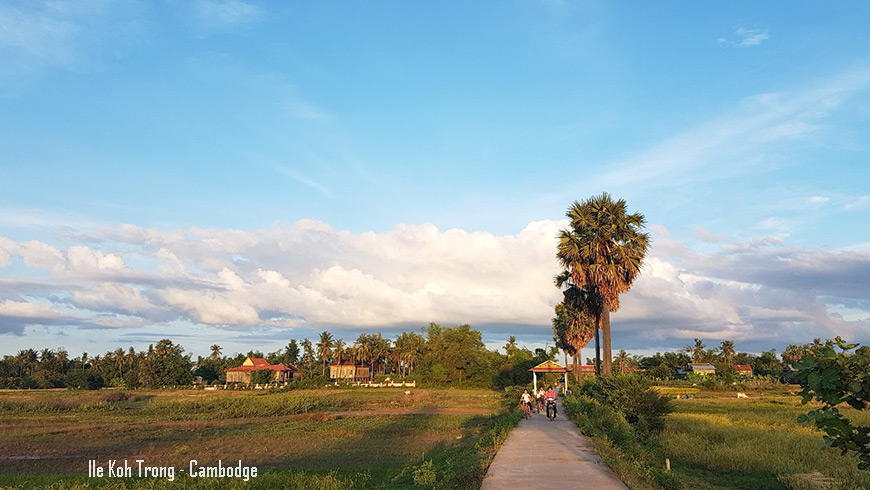 Ile Koh Trong - Kratie - Cambodge