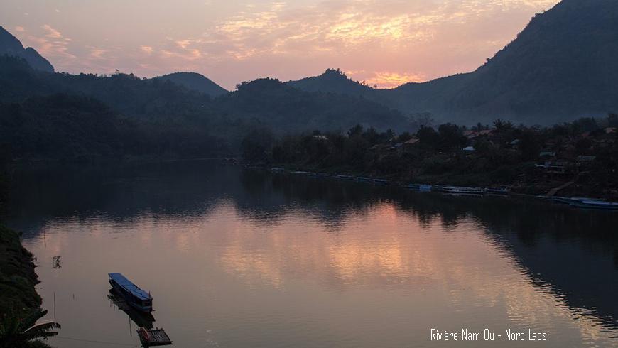 Descente de la rivière Nam Ou Nord Laos