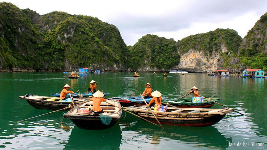 Village flottant Vung Vieng