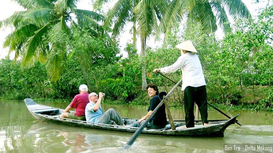 Ben Tre - Delta Mékong