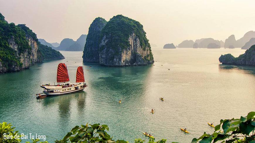 Croisière sur la Baie de Bai Tu Long