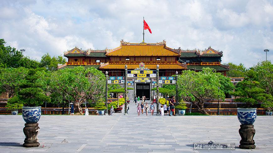 Cité impériale Hue Vietnam