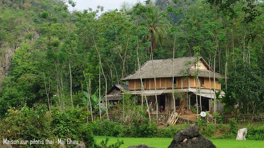 Mai Chau – Maison sur pilotis Thai