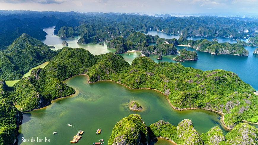 Panaroma Baie de Lan Ha