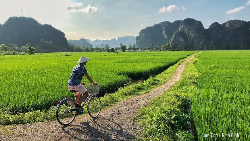 Tour de vélo à Tam Coc