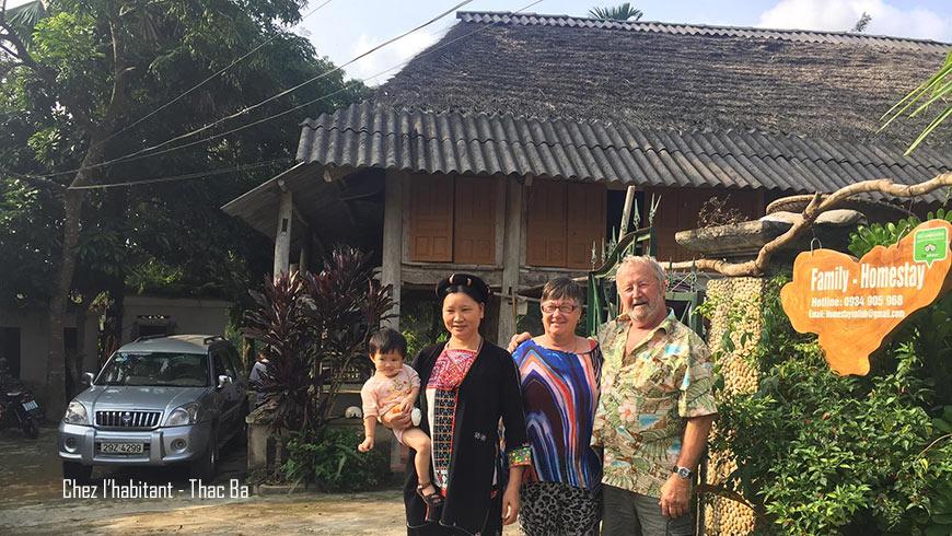 Chez l'habitant à Thac Ba Nord Vietnam