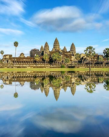 Circuit au Cambodge