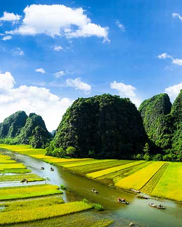 Combiné Vietnam - Cambodge - Laos