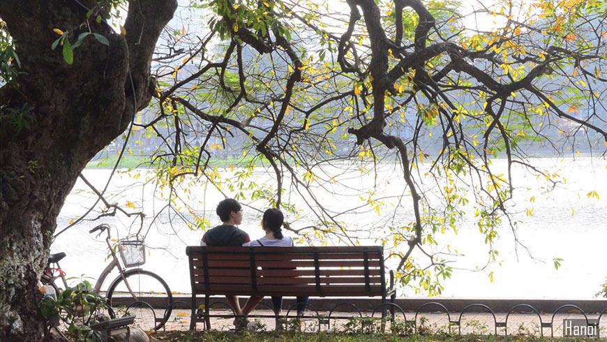 Le lac Hoan Kiem de Hanoi