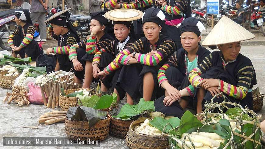 Marché ethnique de Bao Lac – Cao Bang – Vietnam