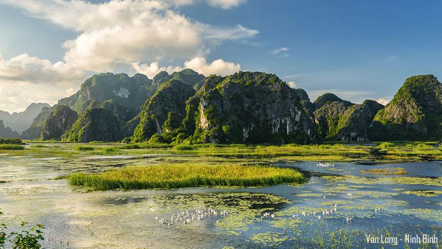 Réserve de Van Long – Ninh Binh