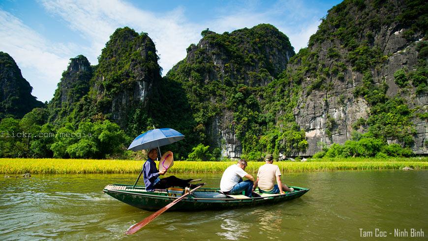 Balade en bateau – Tam Coc