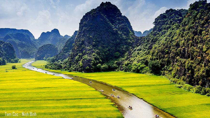 Site de Tam Coc – Ninh Binh
