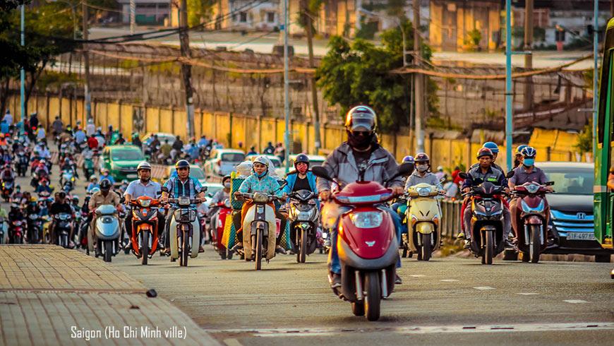 Traffic à Saigon