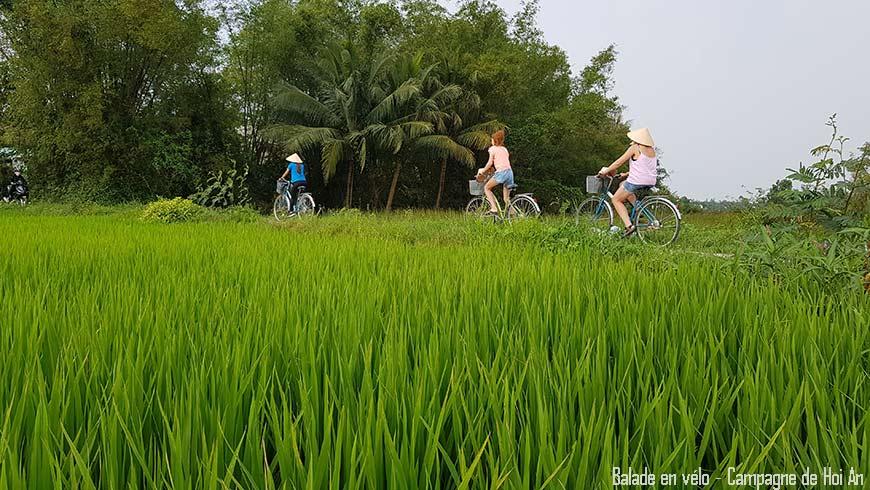 Balade à vélo à la campagne de Hoi An