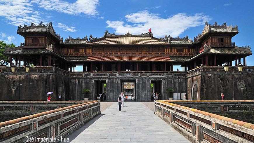 Ville impériale de Hue -Vietnam