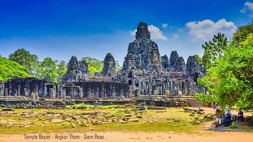 Temple Bayon, Angkor Thom