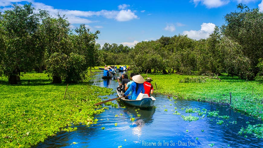 Réserve de Tra Su – Chau Doc -Vietnam;