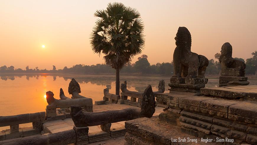 Lac Srah Srang, Angkor, Siem Reap