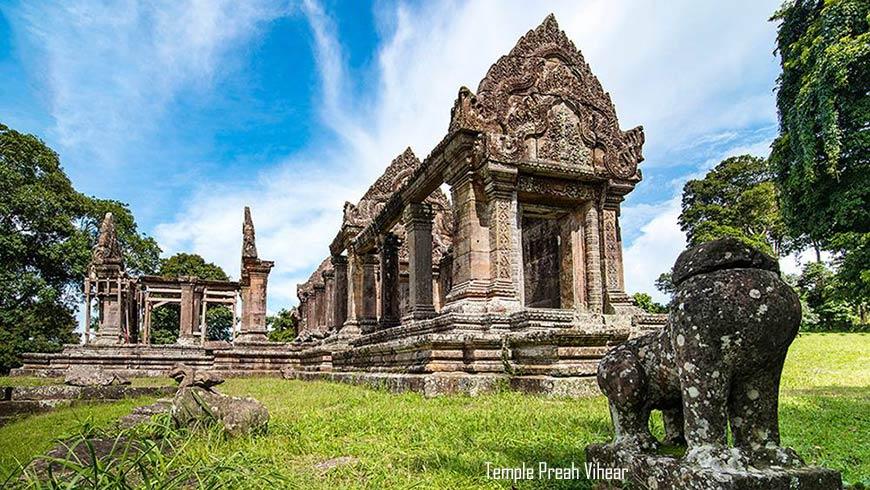 Temple Preah Vihear, Cambodge;