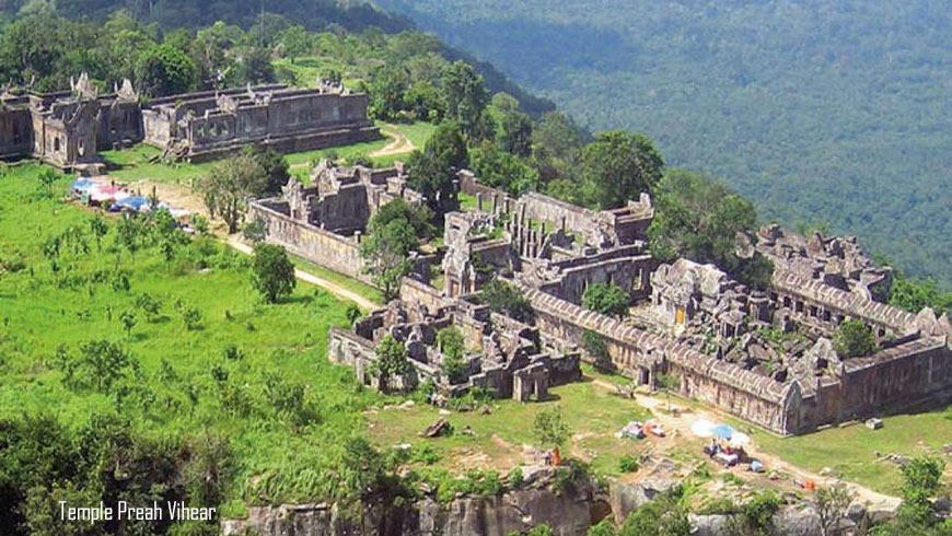 Temple Preah Vihear;